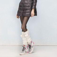 Flotide - 毛毛球暖腿套