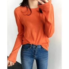 UPTOWNHOLIC - Bell-Sleeve Top