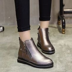 Yoflap - Zip Short Boots