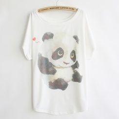 Serenite - Short-Sleeve Print T-Shirt