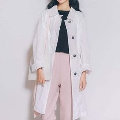 MIKPO - Button Down Long Jacket
