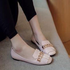 傾城 - 流蘇平跟鞋