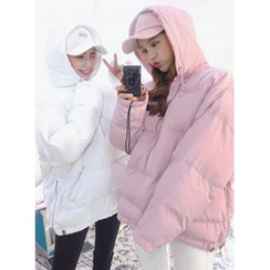 icecream12 - Hood Anorak Padded Jacket