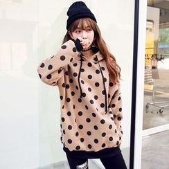 Maine - Hooded Dotted Pullover