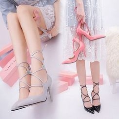 BAYO - Lace Up Pumps