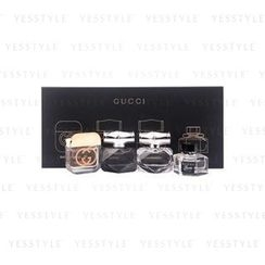 Gucci - Gucci 2016 Miniatures Set: Guilty EDT + Bamboo EDP + Bamboo EDT + Flora EDT
