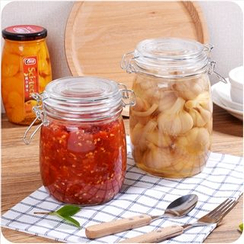 VANDO - Sealed Glass Jar