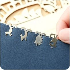 VANDO - Cutout Metal Bookmark