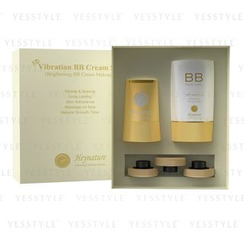 Heynature - 3D Vibration BB Cream Set: Puff Refill x 3 + Puff Machine + BB Cream 40g