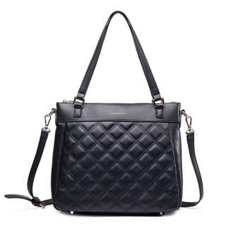 MBaoBao - Faux-Leather Quilted Tote