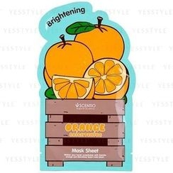 Beauty Buffet - Scentio Orange Brightening Mask Sheet