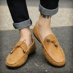 Preppy Boys - Stitched Loafers