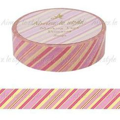 Aimez le style - Aimez le style Masking Tape Primaute Regular Stripe