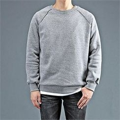 THE COVER - Round-Neck Raglan-Sleeve Pullover