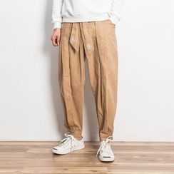 Masowild - 刺绣哈伦裤