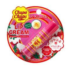 ISEHAN 伊勢半 - Chupa Chups Lip Cream (Strawberry Cream)