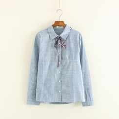 Mushi - Pinstriped Shirt