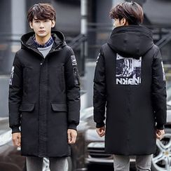 Champking - Printed Hooded Coat