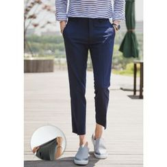 GERIO - Flat-Front Dress Pants