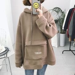Eva Fashion - Oversized Embroidered Hoodie