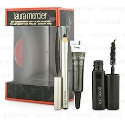 Laura Mercier 羅拉瑪斯亞 - Eye Transformer Trio (1x Mini Eye Glace 4g + 1x Mini Kohl Eye Pencil 0.85g + 1x Mini Mascara 5.7g) - Black Diamond