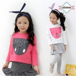 nanakids - Girls Dolman-Sleeve Printed T-Shirt