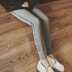 Glen Glam - Lettering Leggings