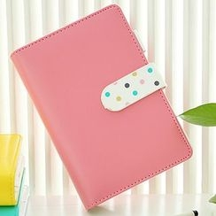 Class 302 - Polka Dot Faux-Leather Planner (S)