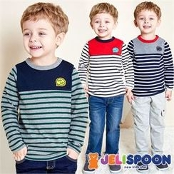 JELISPOON - Kids Cotton Stripe T-Shirt