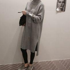 NANING9 - Turtleneck Sweater Dress