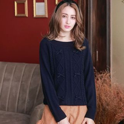 Tokyo Fashion - Bow-Accent Sweater