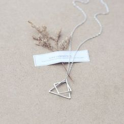 Love Generation - Geometric Pendant Necklace
