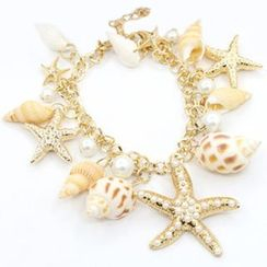Cheermo - Shell and Starfish Bracelet