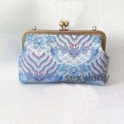 Bling Bag - Patterned Clipframe Clutch