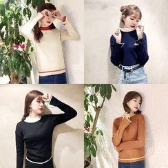 QZ Lady - Mock Neck Sweater