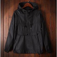 Bigboy - Plain Hooded Jacket