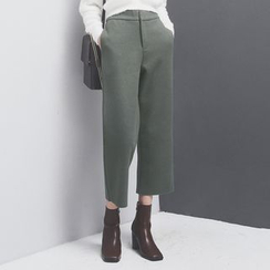 Sonne - Straight-Fit Wool Pants