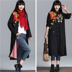 Diosa - Embroidered Long Jacket
