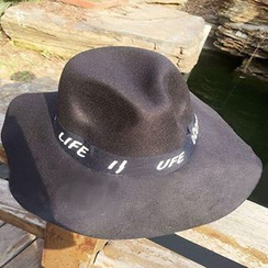 Hats 'n' Tales - Letter Fedora Hat