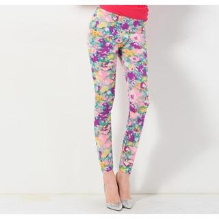 YesStyle Z - Floral Leggings