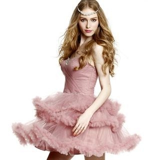Romantic Flavor - Sweetheart Neckline Layered Mini Prom Dress