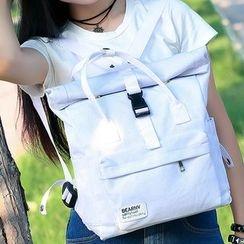 Seok - 卷口帆布背包
