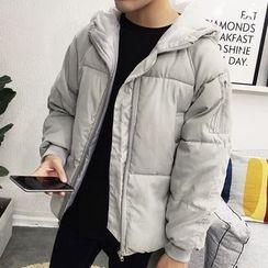 Bay Go Mall - Hooded Down Coat