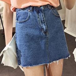 Frontline - Denim Skirt
