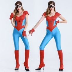 Cosgirl - Halloween Spider Party Costume