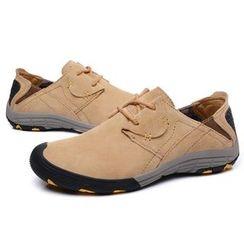 Van Camel - Genuine Suede Sneakers