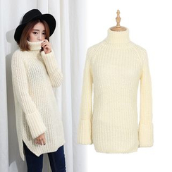 Sens Collection - Turtleneck Chunky Sweater