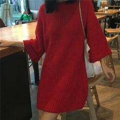 OCTALE - 3/4-Sleeve Long Sweater