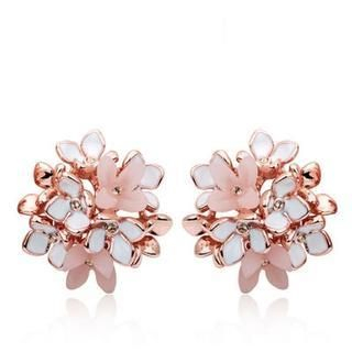 Viennois - Flower Bouquet Stud Earrings