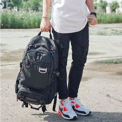 SeventyAge - Plain Nylon Backpack